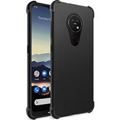 Silikon Hülle Handyhülle Ultra Dünn Schutzhülle für Nokia 6.2 Schwarz