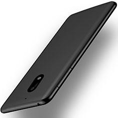 Silikon Hülle Handyhülle Ultra Dünn Schutzhülle für Nokia 6 Schwarz