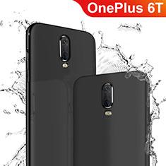 Silikon Hülle Handyhülle Ultra Dünn Schutzhülle für OnePlus 6T Schwarz