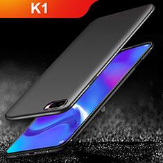 Silikon Hülle Handyhülle Ultra Dünn Schutzhülle für Oppo K1 Schwarz