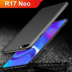 Silikon Hülle Handyhülle Ultra Dünn Schutzhülle für Oppo R17 Neo Schwarz