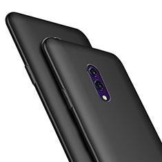 Silikon Hülle Handyhülle Ultra Dünn Schutzhülle für Oppo Realme X Schwarz