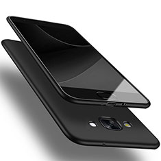 Silikon Hülle Handyhülle Ultra Dünn Schutzhülle für Samsung Galaxy A3 SM-300F Schwarz