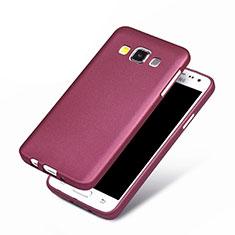Silikon Hülle Handyhülle Ultra Dünn Schutzhülle für Samsung Galaxy A3 SM-300F Violett