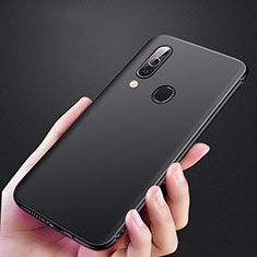 Silikon Hülle Handyhülle Ultra Dünn Schutzhülle für Samsung Galaxy A40 Schwarz