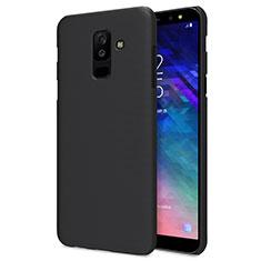 Silikon Hülle Handyhülle Ultra Dünn Schutzhülle für Samsung Galaxy A6 Plus (2018) Schwarz