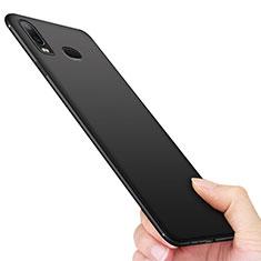 Silikon Hülle Handyhülle Ultra Dünn Schutzhülle für Samsung Galaxy A6s Schwarz