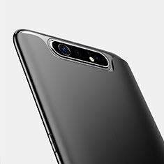 Silikon Hülle Handyhülle Ultra Dünn Schutzhülle für Samsung Galaxy A80 Schwarz