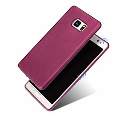 Silikon Hülle Handyhülle Ultra Dünn Schutzhülle für Samsung Galaxy Note 7 Violett