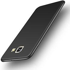 Silikon Hülle Handyhülle Ultra Dünn Schutzhülle für Samsung Galaxy On5 (2016) G570 G570F Schwarz