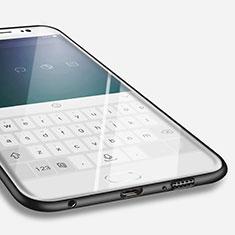 Silikon Hülle Handyhülle Ultra Dünn Schutzhülle für Samsung Galaxy S6 Edge SM-G925 Schwarz