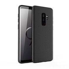 Silikon Hülle Handyhülle Ultra Dünn Schutzhülle für Samsung Galaxy S9 Plus Schwarz