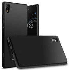 Silikon Hülle Handyhülle Ultra Dünn Schutzhülle für Sony Xperia XA1 Ultra Schwarz