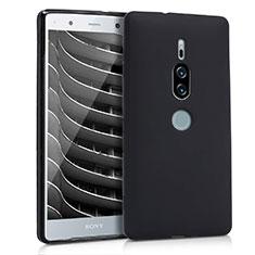 Silikon Hülle Handyhülle Ultra Dünn Schutzhülle für Sony Xperia XZ2 Premium Schwarz