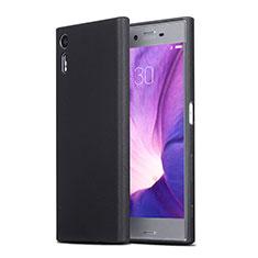 Silikon Hülle Handyhülle Ultra Dünn Schutzhülle für Sony Xperia XZs Schwarz