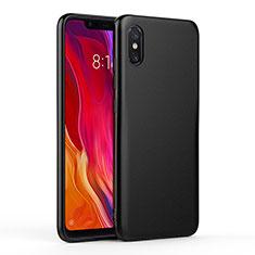 Silikon Hülle Handyhülle Ultra Dünn Schutzhülle für Xiaomi Mi 8 Screen Fingerprint Edition Schwarz