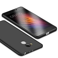 Silikon Hülle Handyhülle Ultra Dünn Schutzhülle für Xiaomi Redmi 4 Prime High Edition Schwarz