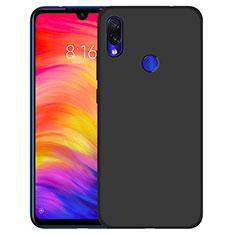 Silikon Hülle Handyhülle Ultra Dünn Schutzhülle für Xiaomi Redmi 7 Schwarz