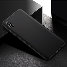 Silikon Hülle Handyhülle Ultra Dünn Schutzhülle für Xiaomi Redmi 9A Schwarz
