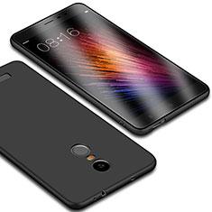 Silikon Hülle Handyhülle Ultra Dünn Schutzhülle für Xiaomi Redmi Note 3 MediaTek Schwarz