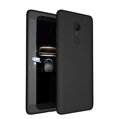 Silikon Hülle Handyhülle Ultra Dünn Schutzhülle für Xiaomi Redmi Note 4X Schwarz