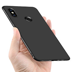 Silikon Hülle Handyhülle Ultra Dünn Schutzhülle für Xiaomi Redmi Note 5 AI Dual Camera Schwarz