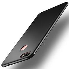 Silikon Hülle Handyhülle Ultra Dünn Schutzhülle R01 für Huawei Enjoy 7 Schwarz