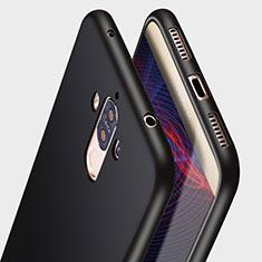 Silikon Hülle Handyhülle Ultra Dünn Schutzhülle R05 für Huawei Mate 9 Schwarz