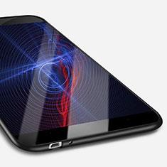 Silikon Hülle Handyhülle Ultra Dünn Schutzhülle S02 für Huawei Enjoy 5S Schwarz