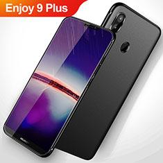 Silikon Hülle Handyhülle Ultra Dünn Schutzhülle S02 für Huawei Enjoy 9 Plus Schwarz