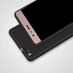 Silikon Hülle Handyhülle Ultra Dünn Schutzhülle S02 für Huawei G9 Lite Schwarz