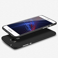 Silikon Hülle Handyhülle Ultra Dünn Schutzhülle S02 für Huawei GX8 Schwarz