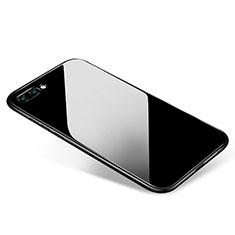 Silikon Hülle Handyhülle Ultra Dünn Schutzhülle S02 für Huawei Honor 10 Schwarz
