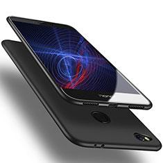 Silikon Hülle Handyhülle Ultra Dünn Schutzhülle S02 für Huawei Honor 8 Lite Schwarz