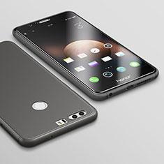 Silikon Hülle Handyhülle Ultra Dünn Schutzhülle S02 für Huawei Honor 8 Schwarz