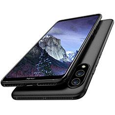 Silikon Hülle Handyhülle Ultra Dünn Schutzhülle S02 für Huawei Honor Note 10 Schwarz