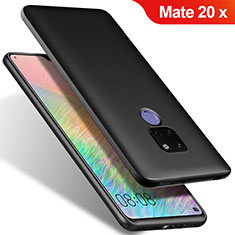 Silikon Hülle Handyhülle Ultra Dünn Schutzhülle S02 für Huawei Mate 20 X 5G Schwarz