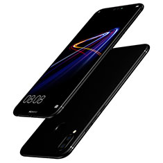 Silikon Hülle Handyhülle Ultra Dünn Schutzhülle S02 für Huawei Nova 3i Schwarz