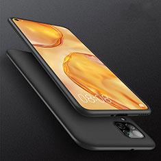 Silikon Hülle Handyhülle Ultra Dünn Schutzhülle S02 für Huawei P40 Lite Schwarz