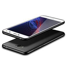 Silikon Hülle Handyhülle Ultra Dünn Schutzhülle S02 für Huawei Y6 (2017) Schwarz