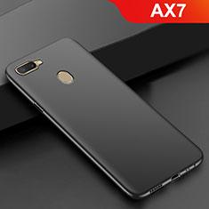 Silikon Hülle Handyhülle Ultra Dünn Schutzhülle S02 für Oppo AX7 Schwarz