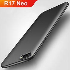 Silikon Hülle Handyhülle Ultra Dünn Schutzhülle S02 für Oppo R17 Neo Schwarz