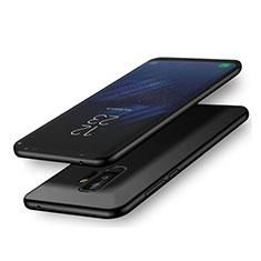 Silikon Hülle Handyhülle Ultra Dünn Schutzhülle S02 für Samsung Galaxy A6 Plus (2018) Schwarz