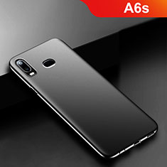 Silikon Hülle Handyhülle Ultra Dünn Schutzhülle S02 für Samsung Galaxy A6s Schwarz