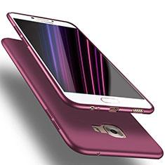 Silikon Hülle Handyhülle Ultra Dünn Schutzhülle S02 für Samsung Galaxy C5 SM-C5000 Violett