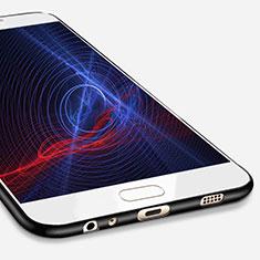 Silikon Hülle Handyhülle Ultra Dünn Schutzhülle S02 für Samsung Galaxy C7 Pro C7010 Schwarz