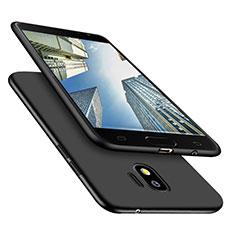 Silikon Hülle Handyhülle Ultra Dünn Schutzhülle S02 für Samsung Galaxy Grand Prime Pro (2018) Schwarz