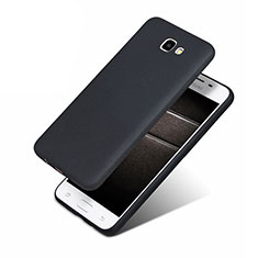 Silikon Hülle Handyhülle Ultra Dünn Schutzhülle S02 für Samsung Galaxy J5 Prime G570F Schwarz