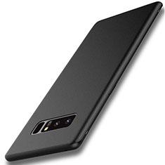 Silikon Hülle Handyhülle Ultra Dünn Schutzhülle S02 für Samsung Galaxy Note 8 Duos N950F Schwarz