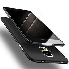 Silikon Hülle Handyhülle Ultra Dünn Schutzhülle S02 für Samsung Galaxy S5 G900F G903F Schwarz